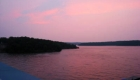 Lake of the Ozarks Sunset Over Water